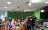 Fernsehbericht über die 6e in der Kochschule des Klimahauses