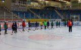 Hier trainieren kleine Eishockeyprofis