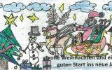 Wir wünschen allen erholsame Ferien, frohe Weihnachten und einen guten Start in das neue Jahr!