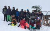 Skifahrt 2018 des Lloyd Gymnasiums und der Johann Gutenberg Schule